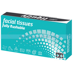 Kosmetiktücher Wepa liquify 2-lagig hochweiß 100er Box