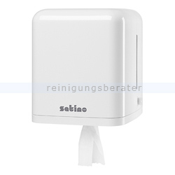 Handtuchrollenspender Wepa Satino Centerfeed Spender Plus
