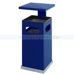 Standascher mit Schutzdach blau 70 L