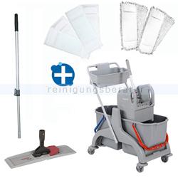 Reinigungswagen ReinigungsBerater Profi Set 4 mit Korb