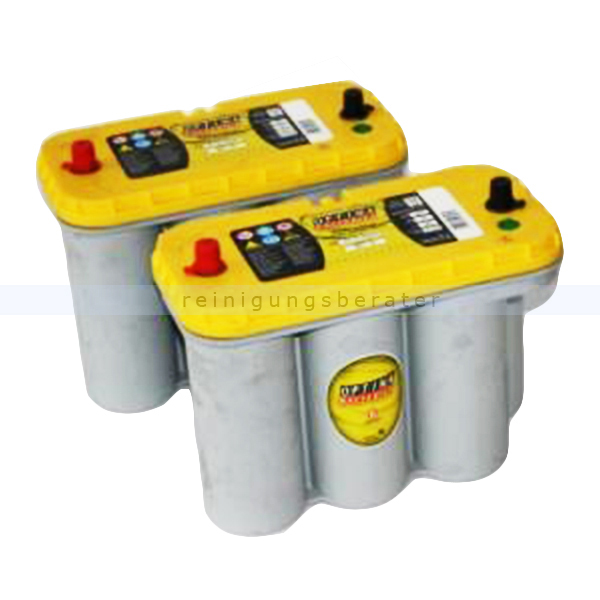 2 Spiralcellbatterien Cleanfix RA 431 B 12V/75 Ah (wartungsfrei) 500.091