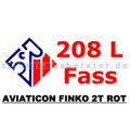 2 Takt Öl Aviaticon Finko 2T rot 208 L