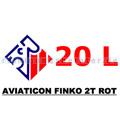 2 Takt Öl Aviaticon Finko 2T rot 20 L