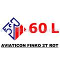2 Takt Öl Aviaticon Finko 2T rot 60 L