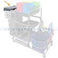 Abfalleinheit Ersatz Müllsackhalterung Deckel grau