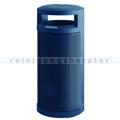 Abfallsammler Abfallbehälter für draußen 120 L Blau