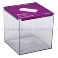 Abfallsammler Rossignol Batterie-Sammler Pileo 7 L violett