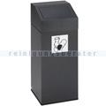 Abfallsammler VAR Wertstoffsammler 76 L antiksilber