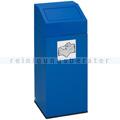 Abfallsammler VAR Wertstoffsammler 76 L enzianblau