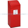Abfallsammler VAR Wertstoffsammler 76 L rot