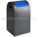 Abfallsammler VAR WSG 40 R antik-silber 43 L enzianblau