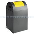 Abfallsammler VAR WSG 40 R antik-silber 43 L gelb