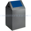 Abfallsammler VAR WSG 40 S antik-silber 43 L enzianblau