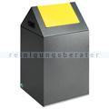 Abfallsammler VAR WSG 40 S antik-silber 43 L gelb