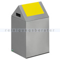 Abfallsammler VAR WSG 40 S silber 43 L gelb