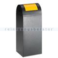 Abfallsammler VAR WSG 55 R antik-silber 60 L gelb