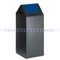 Abfallsammler VAR WSG 55 S antik-silber 60 L enzianblau