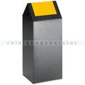 Abfallsammler VAR WSG 55 S antik-silber 60 L gelb