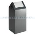 Abfallsammler VAR WSG 55 S antik-silber 60 L silber