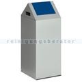 Abfallsammler VAR WSG 55 S silber 60 L enzianblau