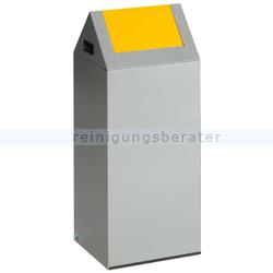 Abfallsammler VAR WSG 55 S silber 60 L gelb