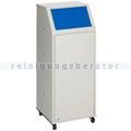 Abfallsammler VAR WSG 69 Müllsammler fahrbar enzianblau 69 L