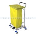 Abfallwagen Floorstar Trennwagen TWD 1fach SOLID gelb