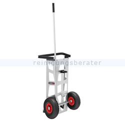 Abfallwagen Flora Easy Original mit Luftbereifung