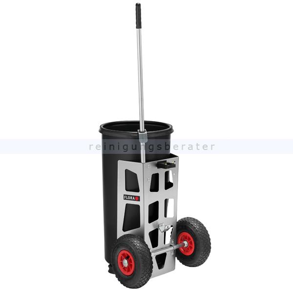 Abfallwagen Flora Easy Uno mit Luftbereifung