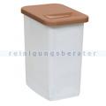 Abfallwagen Zubehör Novocal KB51 Behälter 50 L braun