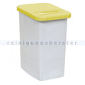 Abfallwagen Zubehör Novocal KB51 Behälter 50 L gelb