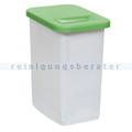 Abfallwagen Zubehör Novocal KB51 Behälter 50 L grün