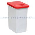 Abfallwagen Zubehör Novocal KB51 Behälter 50 L rot