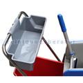Ablagekorb für Reinigungswagen aus PE Kunststoff grau