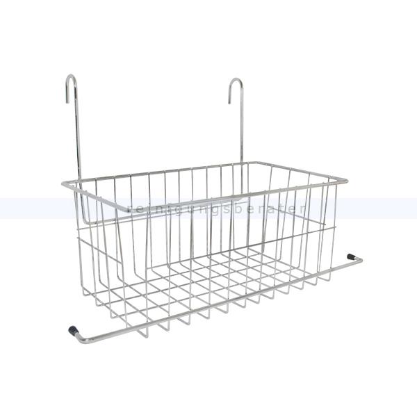 ablagekorb tts drahtkorb doppelfahrwagen. Black Bedroom Furniture Sets. Home Design Ideas