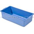 Ablageschale Numatic ohne Facheinteilung 120mm tief, 3/4, blau