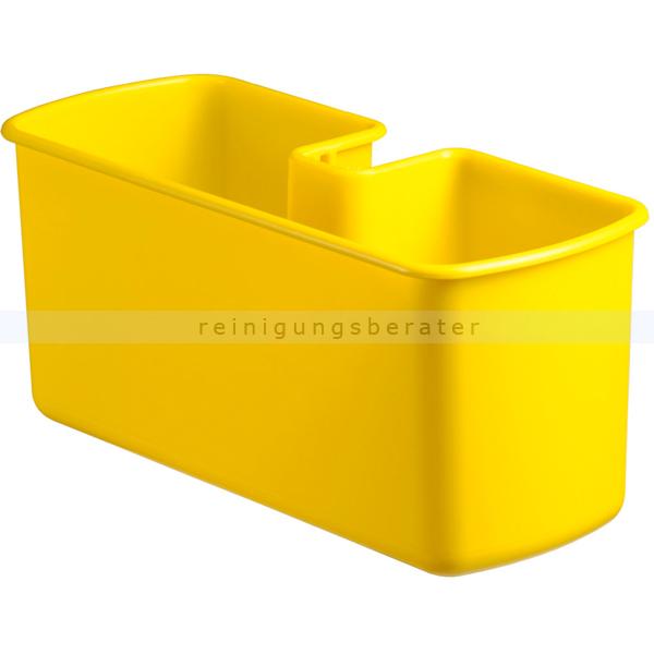 Ablageschale TTS Kunststoffschale, Wanne gelb Zum einhängen an den seitlichen Griff! 00003350
