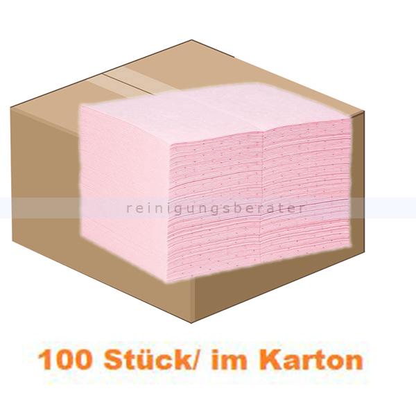 New Pig Absorptionsmatte PIG® HazMat Matte 100 Stück Hazardous Material, Matten 38 cm x 51 cm MAT301