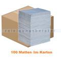 Absorptionsmatte PIG BLUE® Saugmatte im Karton 100 Stück
