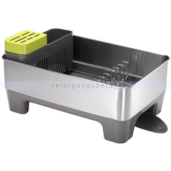 EKO Geschirrkorb Klein grau Abtropfgestell für Spülen praktischer Haushaltshelfer im edlen Design 31180226