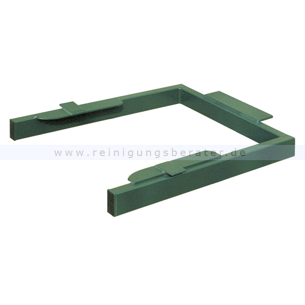 ReinigungsBerater Adapter für Mülltonnenkipper Grün für 120 L Mülltonnen 31027033