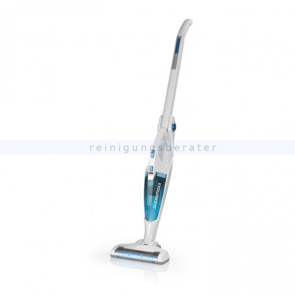 Akkusauger CLEANmaxx Hand- und Stielsauger 2in1 weiß/blau