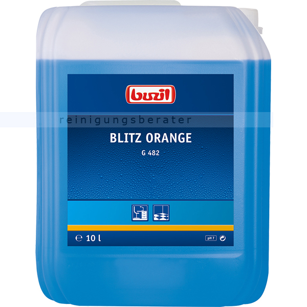Alkoholreiniger Buzil G482 Blitz Orange 10 L