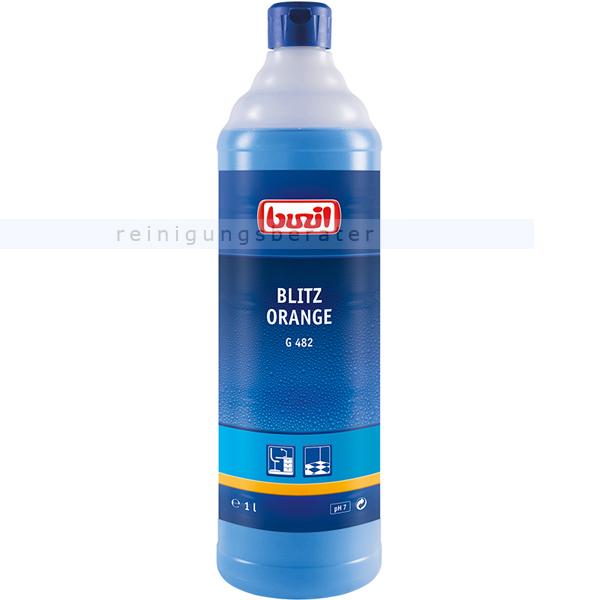 Alkoholreiniger Buzil G482 Blitz Orange 1 L