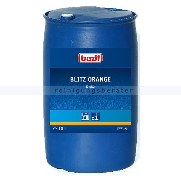 Buzil Alkoholreiniger G482 Blitz Orange 200 L Alkoholreiniger mit Orangenduft G482-0200R1