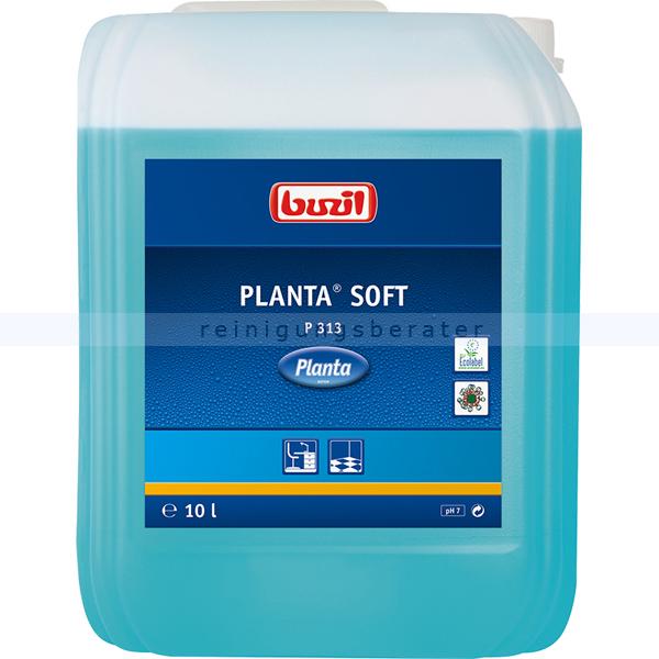 Buzil P313 Planta Soft mit Alkohol 10 L Allesreiniger für wasserbeständige und glänzende Flächen P313-0010R1