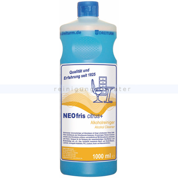 Alkoholreiniger Dreiturm Neofris citrus plus 1 L