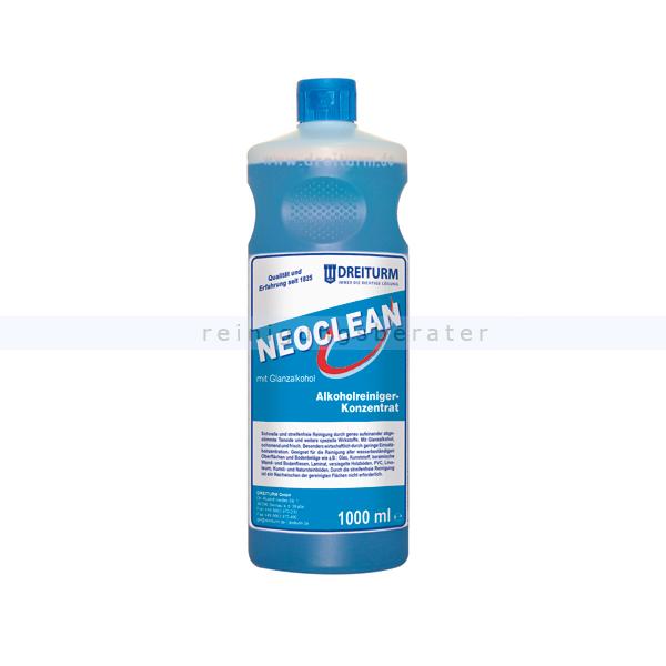 Konzentrat Dreiturm Neoclean 1 L Alkohol-Reiniger, für alle wasserbeständigen Oberflächen 4276