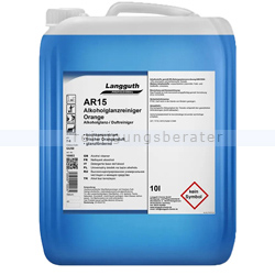 Alkoholreiniger Langguth AR15 Orange Clean 10 L