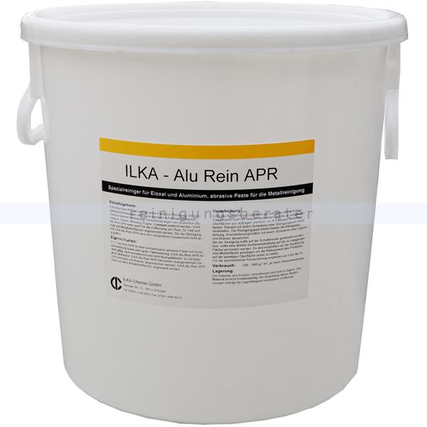 ILKA Chemie Alureiniger für Fassaden ILKA Alu Rein APR 30 kg Spezialreiniger, abrasive Paste für die Metallreinigung 0304030